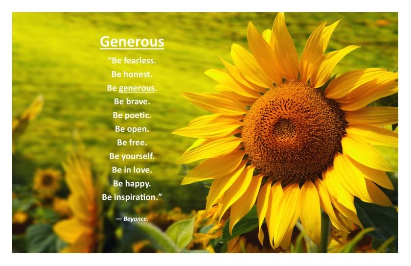 Generous F